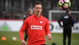 Napastnik reprezentacji Polski w piłce nożnej Arkadiusz Milik