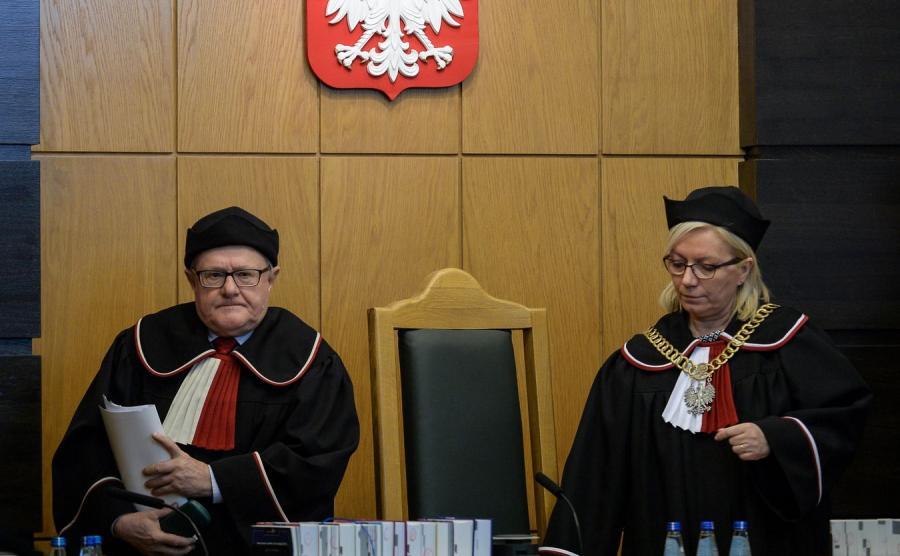 Stanisław Biernat i Julia Przyłębska