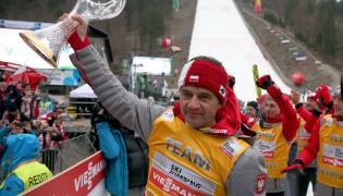 Trener polskiej drużyny skoczków Stefan Horngacher