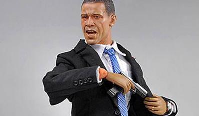 Obama jako lalkowy twardziel