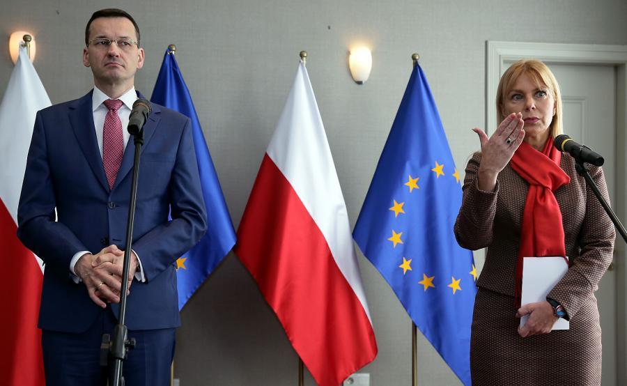 Mateusz Morawiecki i Elżbieta Bieńkowska