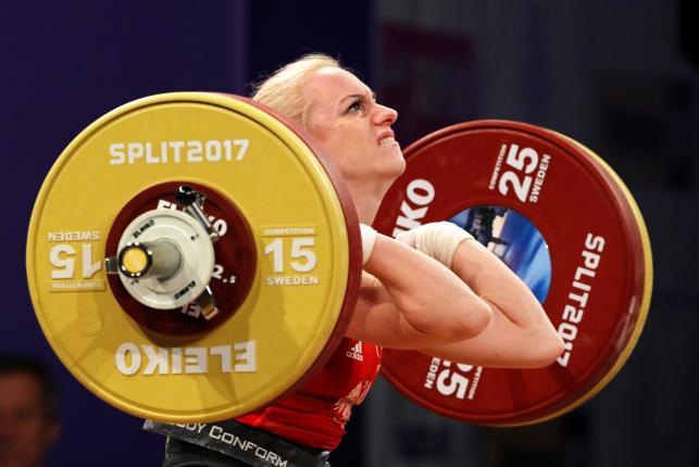 Siłaczka! Joanna Łochowska mistrzynią Europy w podnoszeniu ciężarów!