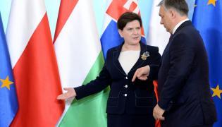 Beata Szydło i Victor Orban
