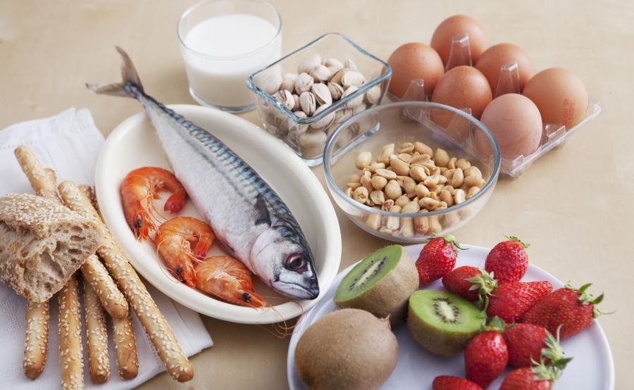 Produkty, które powodują alergię pokarmową