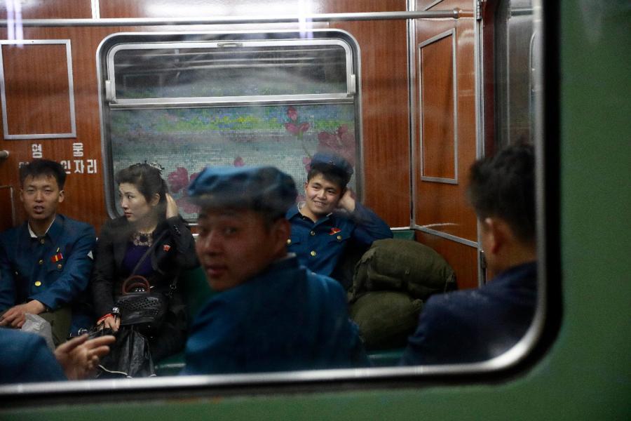 Młodzi Koreańczycy z Północy