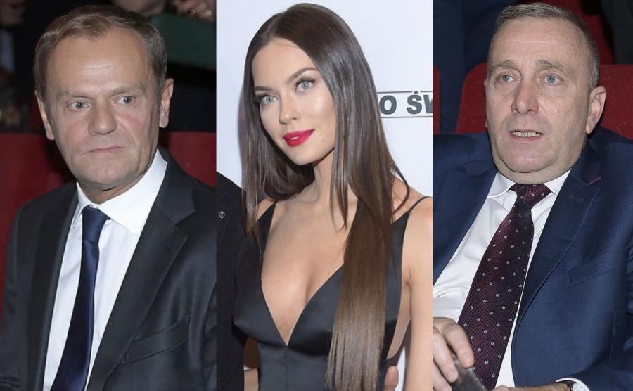 Donald Tusk, Edyta Zając-Rzeźniczak, Grzegorz Schetyna