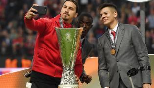 Zlatan Ibrahimovic, Eric Bailly i Marcos Rojo