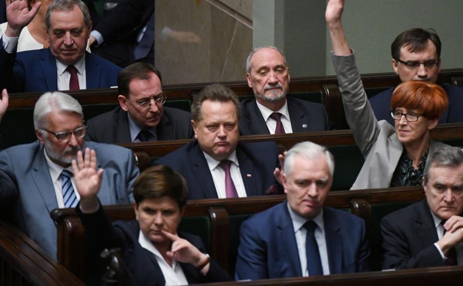 Ministrowie w Sejmie