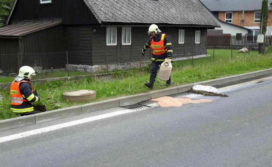 Akcja czeskiej straży pożarnej