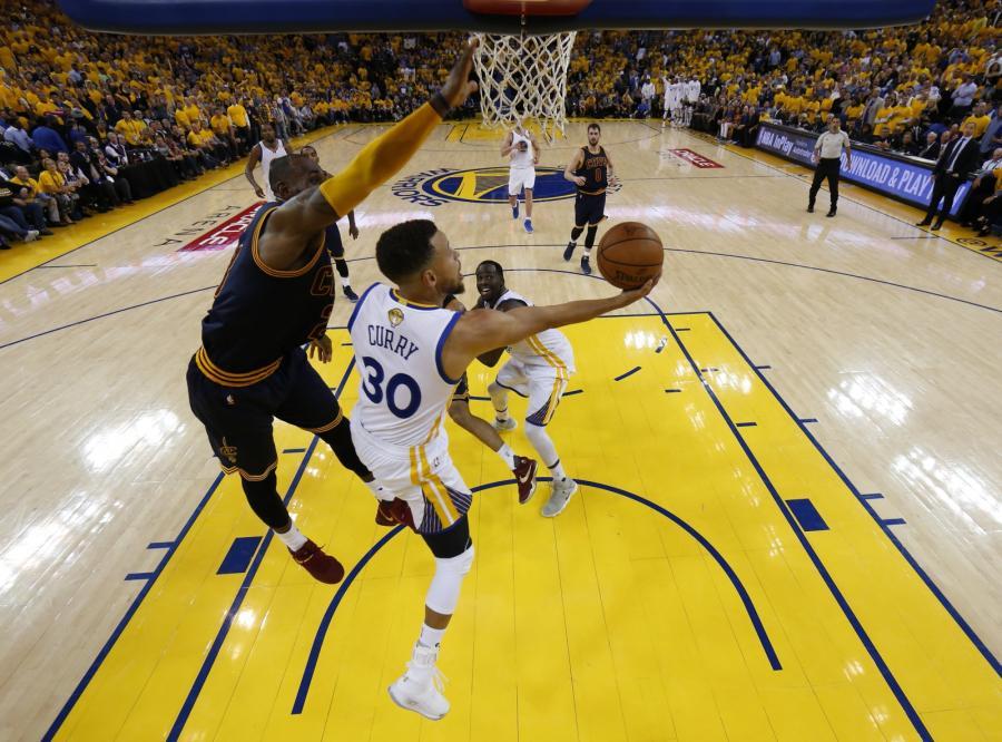 Stephen Curry i LeBron James