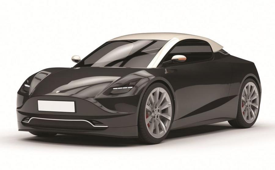 Filip Totoś puścił wodze fantazji i stworzył elektryczne coupe