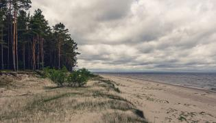 Plaża nad morzem