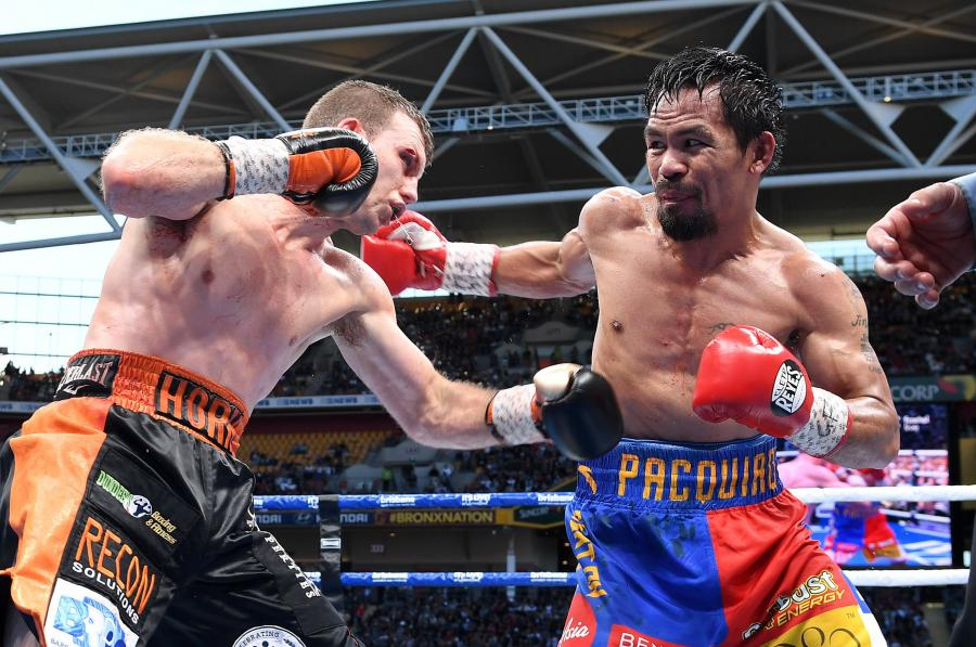 Jeff Horn i Manny Pacquiao