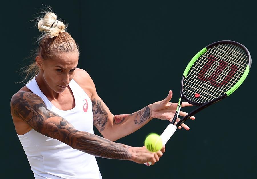 Polona Hercog najbardziej wytatuowaną tenisistką na Wimbledonie
