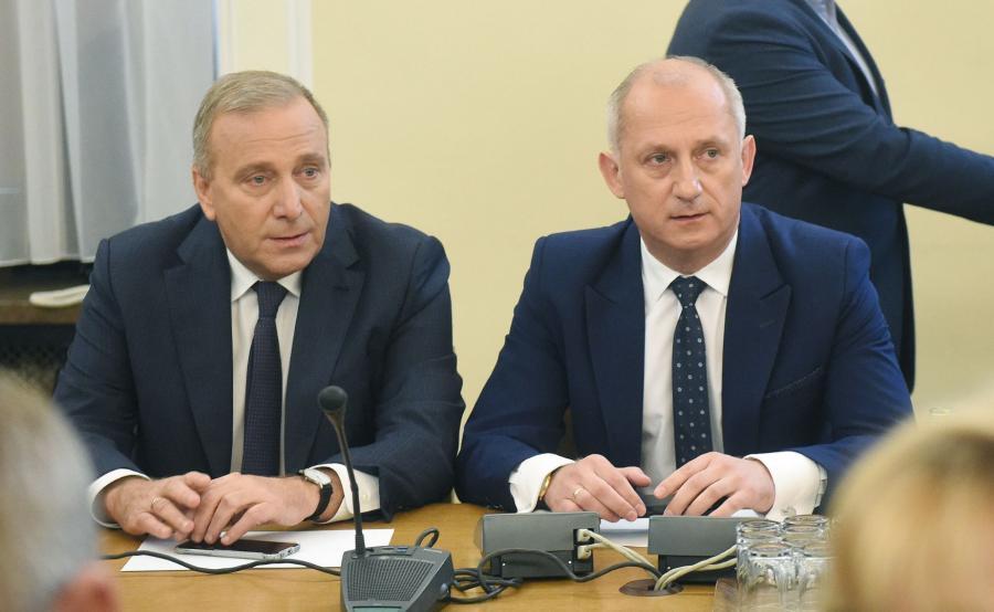Grzegorz Schetyna i Sławomir Neumann