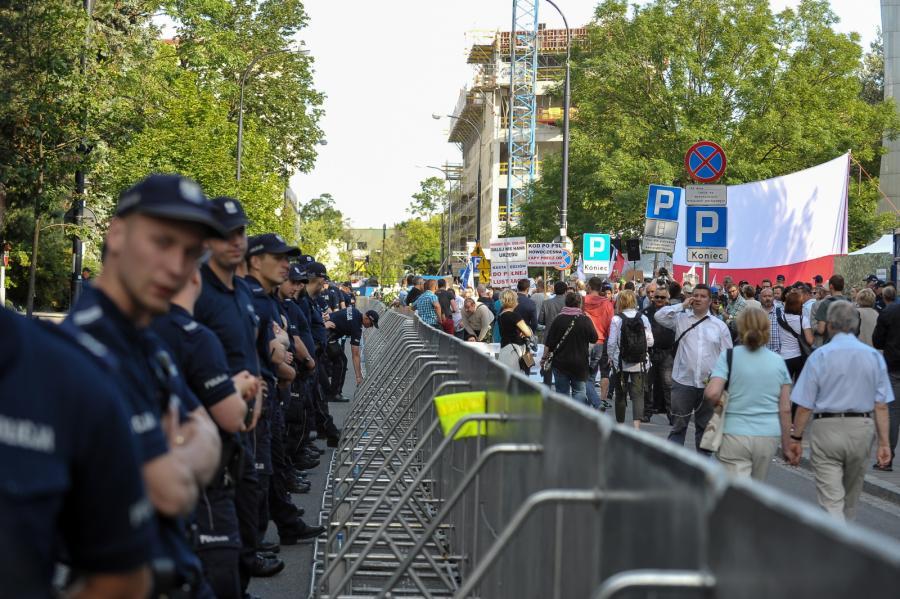 Zabezpieczenie protestu