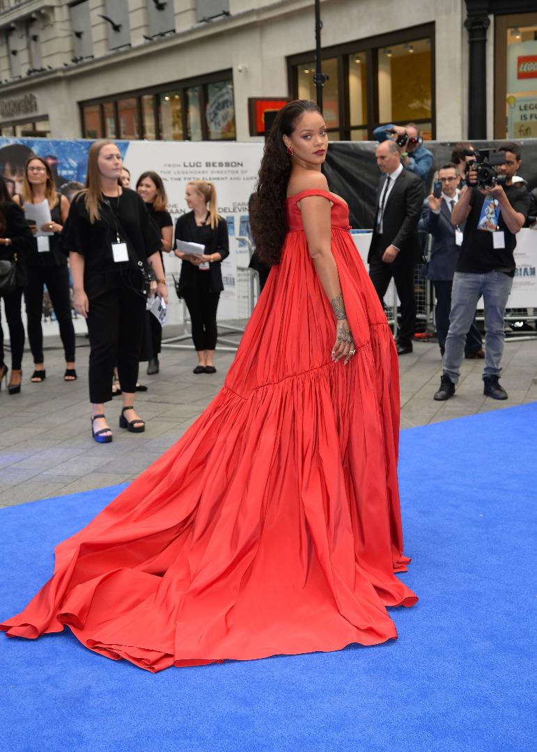 Rihanna w Londynie