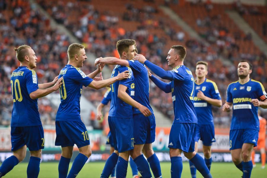 Czy piłkarze Arki Gdynia będą mieli dziś powody do radości?