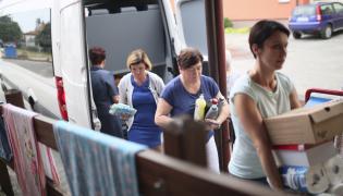 Pomoc przeznaczona dla mieszkańców w okolicy miejscowości Rytel