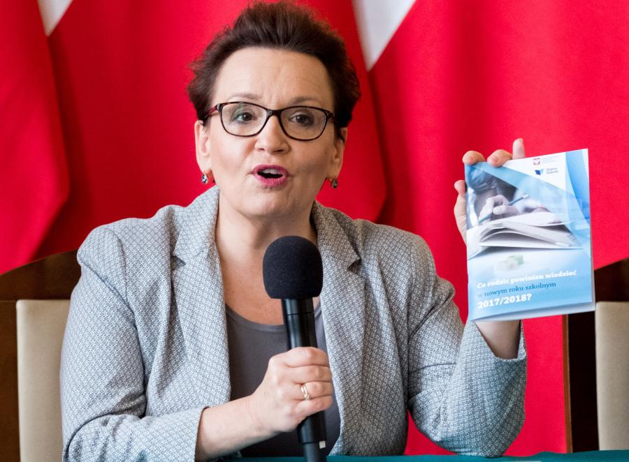 Anna Zalewska / minister edukacji