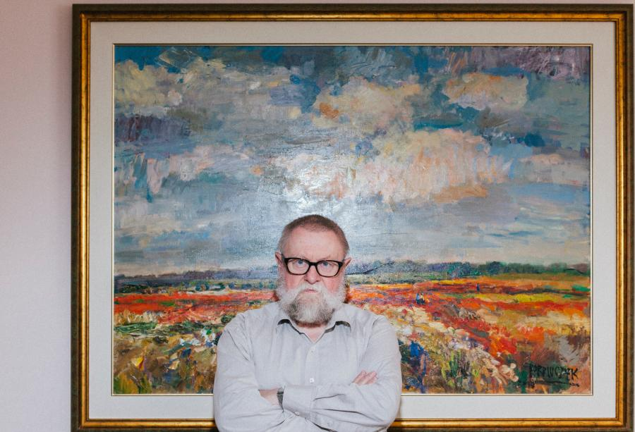 Jerzy Bralczyk. Fot. Maksymilian Rigamonti
