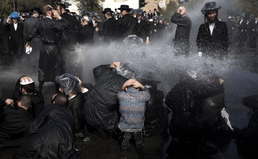 Protest w Jerozolimie