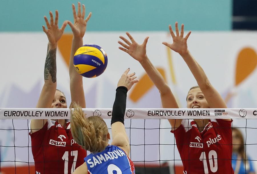 Malwina Smarzek, Zuzanna Efimenko i Yelyzaweta Samadova