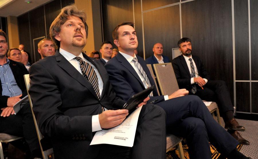 Piotr Misiło i Adam Szłapka