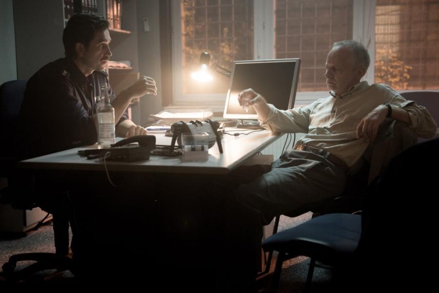 """Marcin Dorociński oraz Krzysztof Stroiński  w filmie """"Pitull. Ostatni pies"""" fot. Krzysztof Wiktor (c)Ent One Investments"""