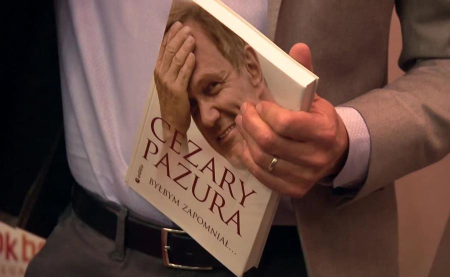 Autobiografia Cezarego Pazury