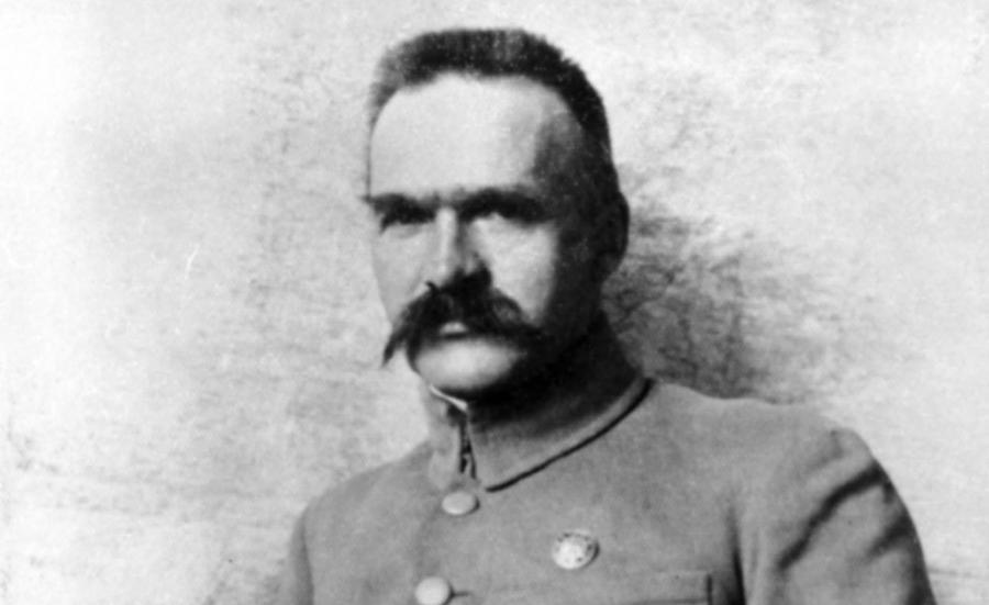 Józef Piłsudski. Reprodukcja zdjęcia ze zbiorów Muzeum Historycznego m.st. Warszawy