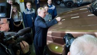 Można spodziewać się, że samochód z podpisem Putina będzie kiedyś kosztować fortunę