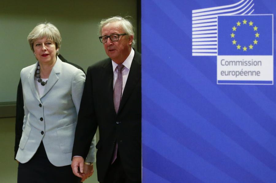 Theresa May, Jean-Claude Juncker
