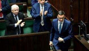 Jarosław Kaczyński, Mariusz Błaszczak i Mateusz Morawiecki