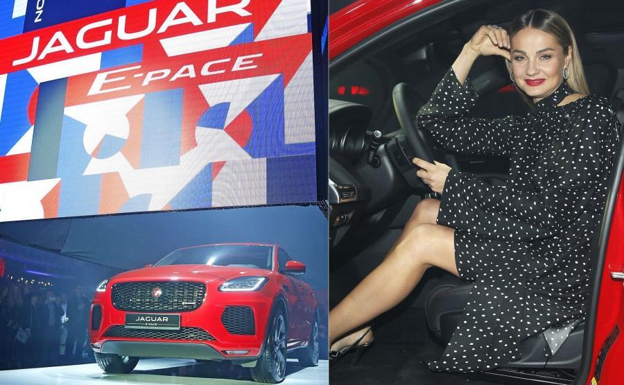 Jaguar E-Pace i Małgorzata Socha