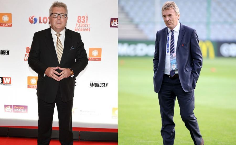 Zbigniew Boniek i Ryszard Czarnecki
