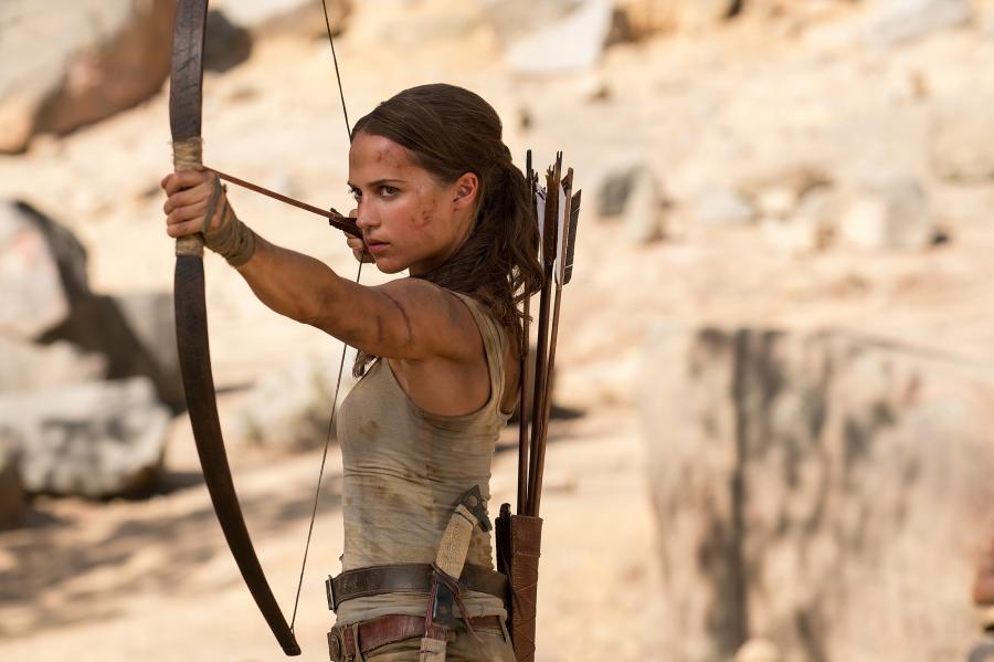 Alicia Vikander jako Lara Croft. Polska premiera filmu \