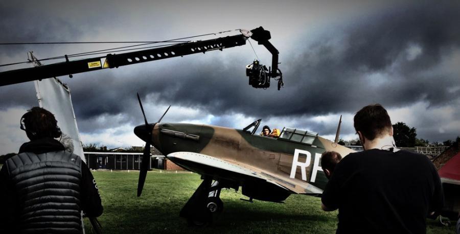 """Tak powstawał film """"303. Bitwa o Anglię"""" fot.Prospect3"""