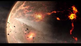 Fragment filmu opublikowanego przez NASA