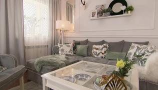 Odpicowane mieszkanie w stylu hamptons
