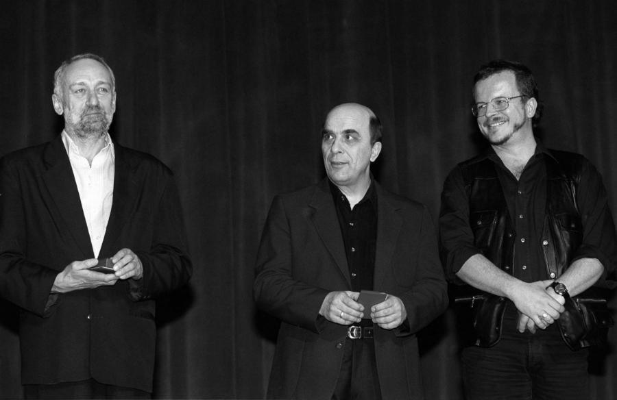 N/z od lewej : Przemysław Gintrowski, Zbigniew Łapiński, Jacek Kaczmarski