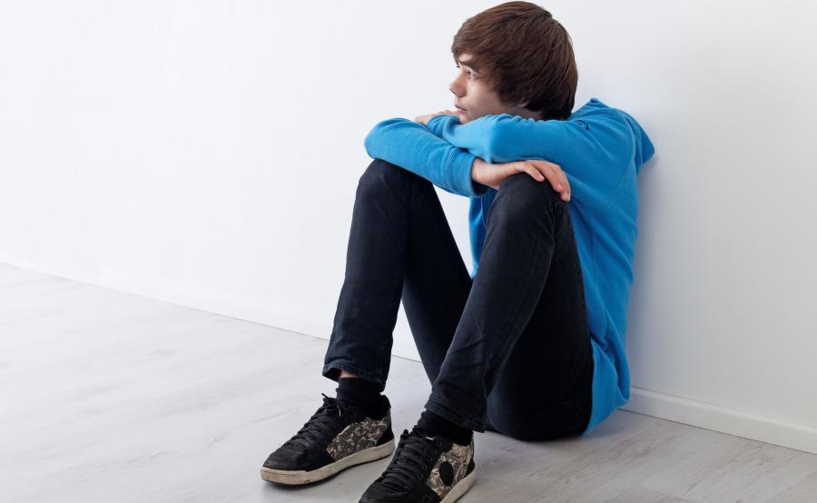 Nastolatek ma problem, depresję
