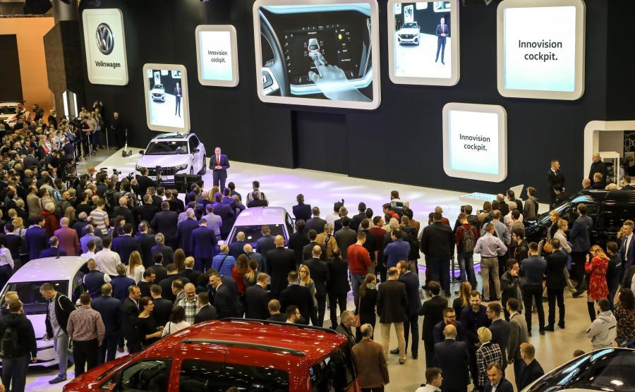Volkswagen Touareg przyciągnął publiczność