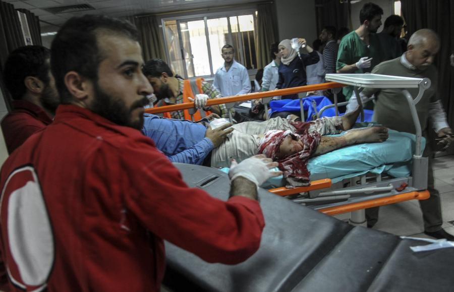 Syria, atak w Dumie