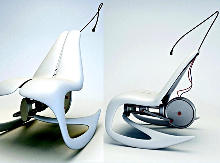Kosmiczny fotel dla moli książkowych