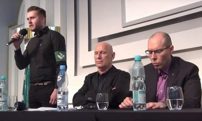 Stowarzyszenie Dziennikarzy Polskich udostępniło siedzibę ONR. Podczas debaty oskarżono prezydenta Dudę o antypolonizm