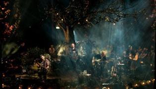 Biffy Clyro podczas koncertu MTV Unplugged