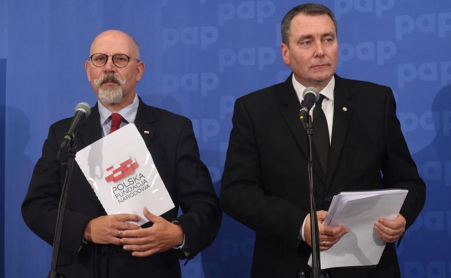 Maciej Świrski i Cezary Andrzej Jurkiewicz