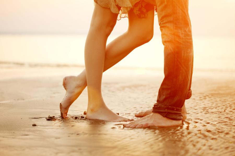 Zakochani na plaży