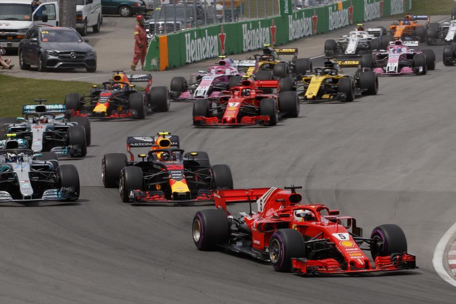 Sebastian Vettel wygrał GP Kanady